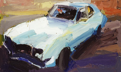 Ben Quilty Car Paintings