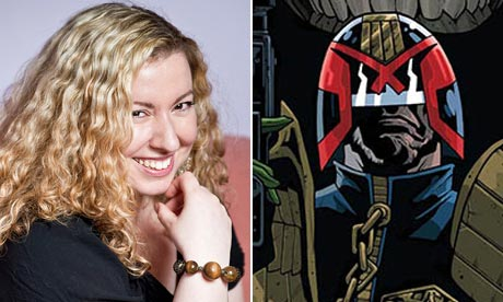 Judge Dredd gets first female writer