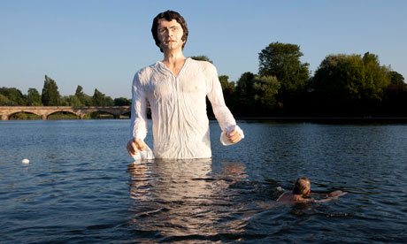 Mr Darcy surfaces as s...
