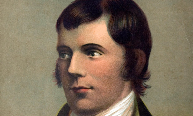 My hero robert burns books the guardian for Burns supper order of service