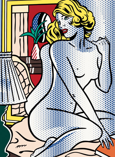 Roy Lichtenstein: from heresy to visionary