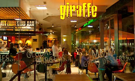 Tesco buys child-friendly restaurant chain Giraffe for £50m