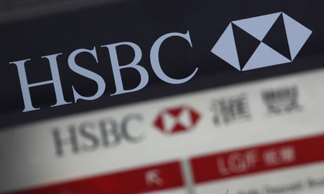 200 HSBC staff paid more than £1m in 2012