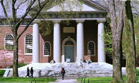 Harvard University ranks highest in the world according to the Times Higher Education for reputation in teaching and research.