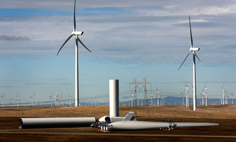 Wind power capacity grew 20% globally in 2012, figures show