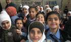 Thumbnail for Palestinian refugee schoolgirls study hard for an uncertain future