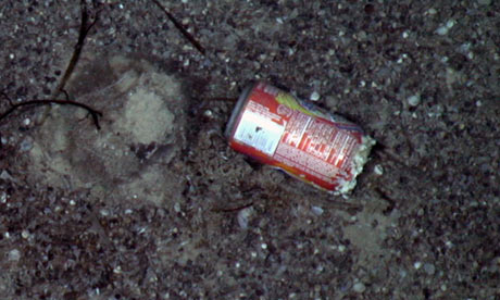 Litter found in deepsea survey of one of Earth's final unexplored realms