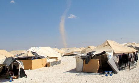 Security concerns rise at Syrian refugee camp despite police presence