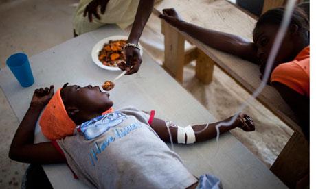 Haiti launches 10-year plan to eradicate cholera yet UN funds fall short