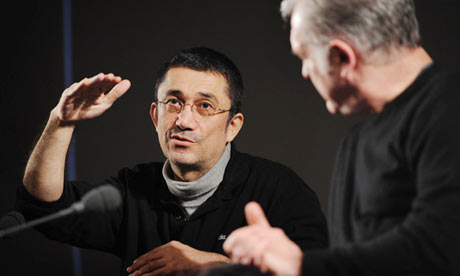 It's all about vertical lines ... Nuri Bilge Ceylan talks to Geoff Andrew at BFI Southbank. Photograph: Linda Nylind