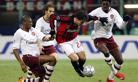 Kaka v Arsenal
