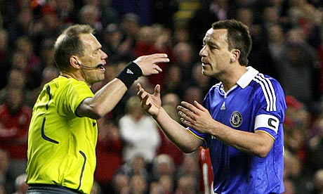 Claus Bo Larsen and John Terry