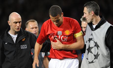 Rio Ferdinand could face Arsenal