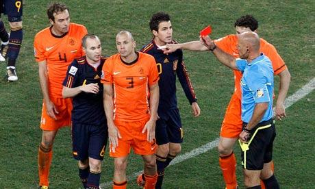 2010 FIFA World Cup disciplinary record