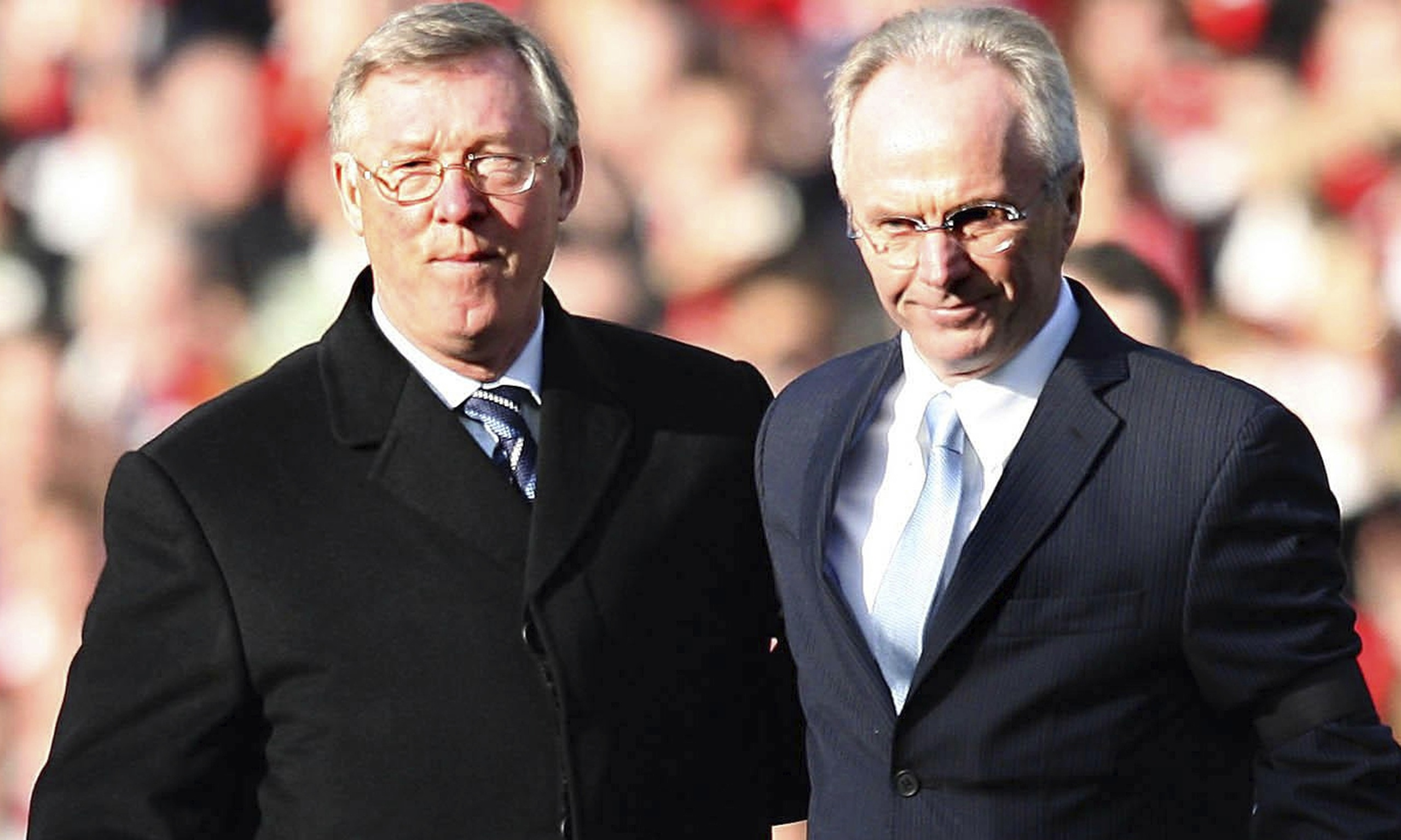 Sven-Goran Eriksson: I signed deal to succeed Sir Alex Ferguson