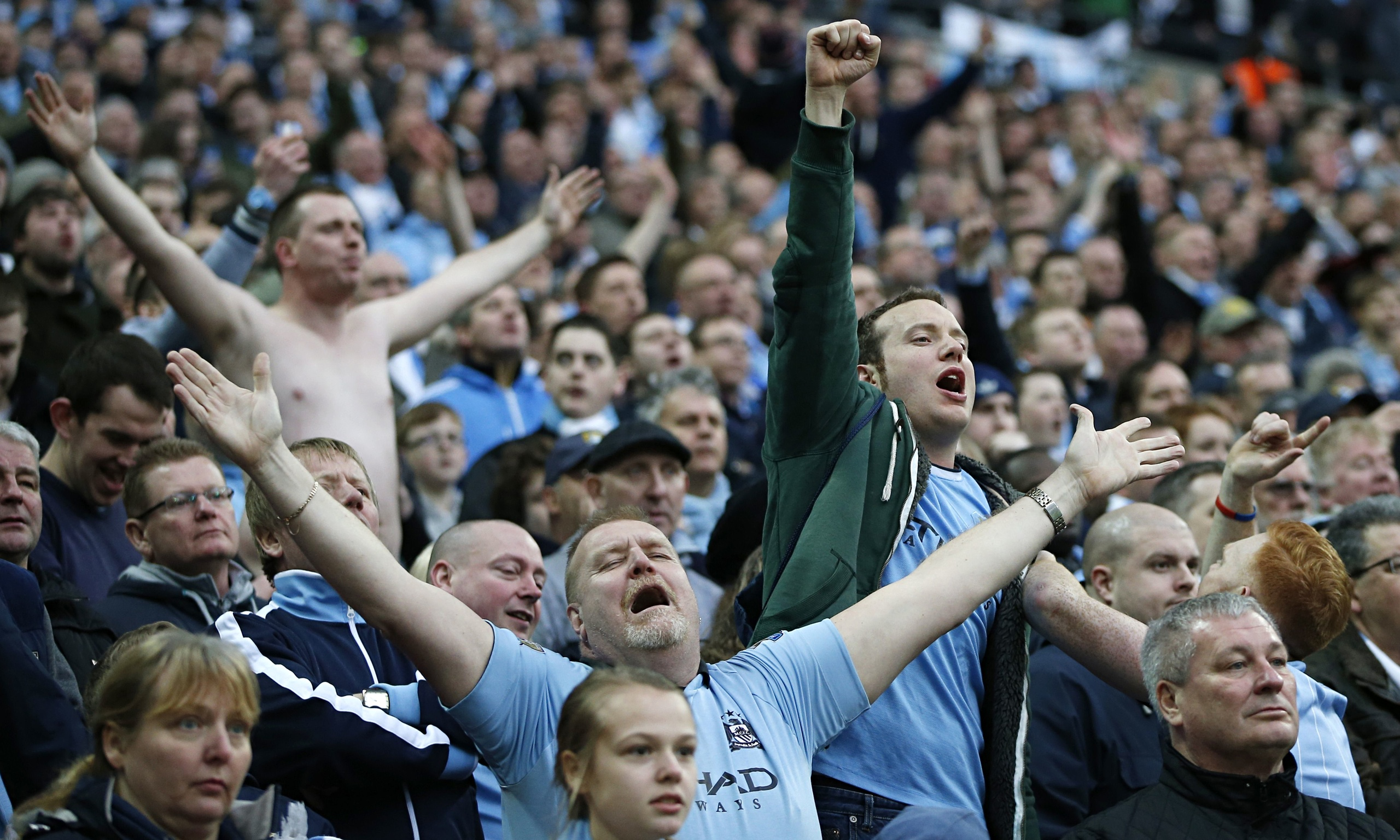 Football Clubs: Manchester City's Wembley Win Over Sunderland Oozed Old