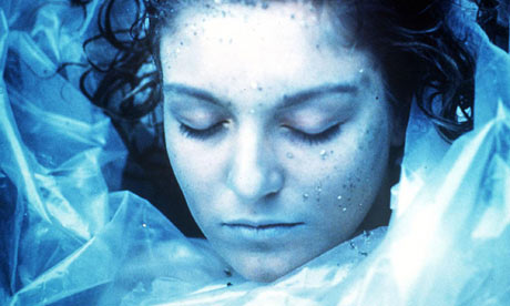 Sheryl lee as the dead girl laura palmer in twin peaks photograph