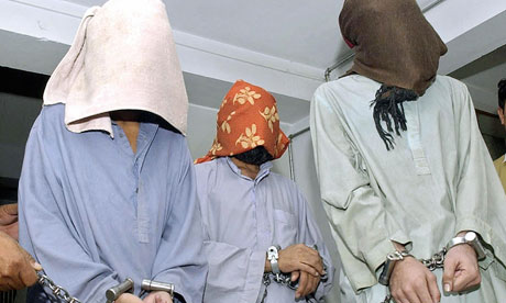 Suspected members of the Baloch Liberation Army