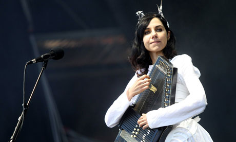 PJ Harvey … 'I live and die through England, it leaves a sadness'. Photograph: Sipa Press/Rex
