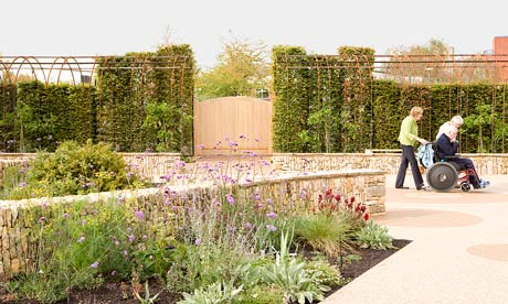 Gardens the healing garden life and style the guardian for Gardening jobs cornwall