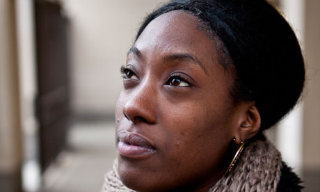 Isha Nembhard used to belong to a gang in Peckham, south London. Photograph: Antonio Olmos for the Observer