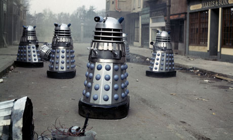 Daleks are a legacy of British pop art