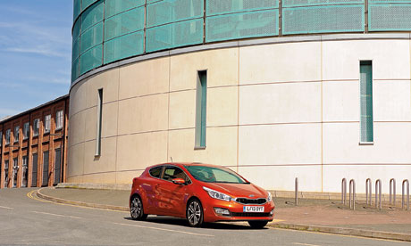 The Guardian On the road: Kia procee'd 1.6 CRDi S ISG
