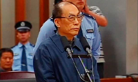 Liu Zhijun, China's ex-railway minister, sentenced to death for corruption