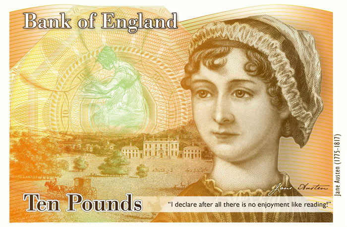 Why that Jane Austen quotation on the new £10 note is a major blunder