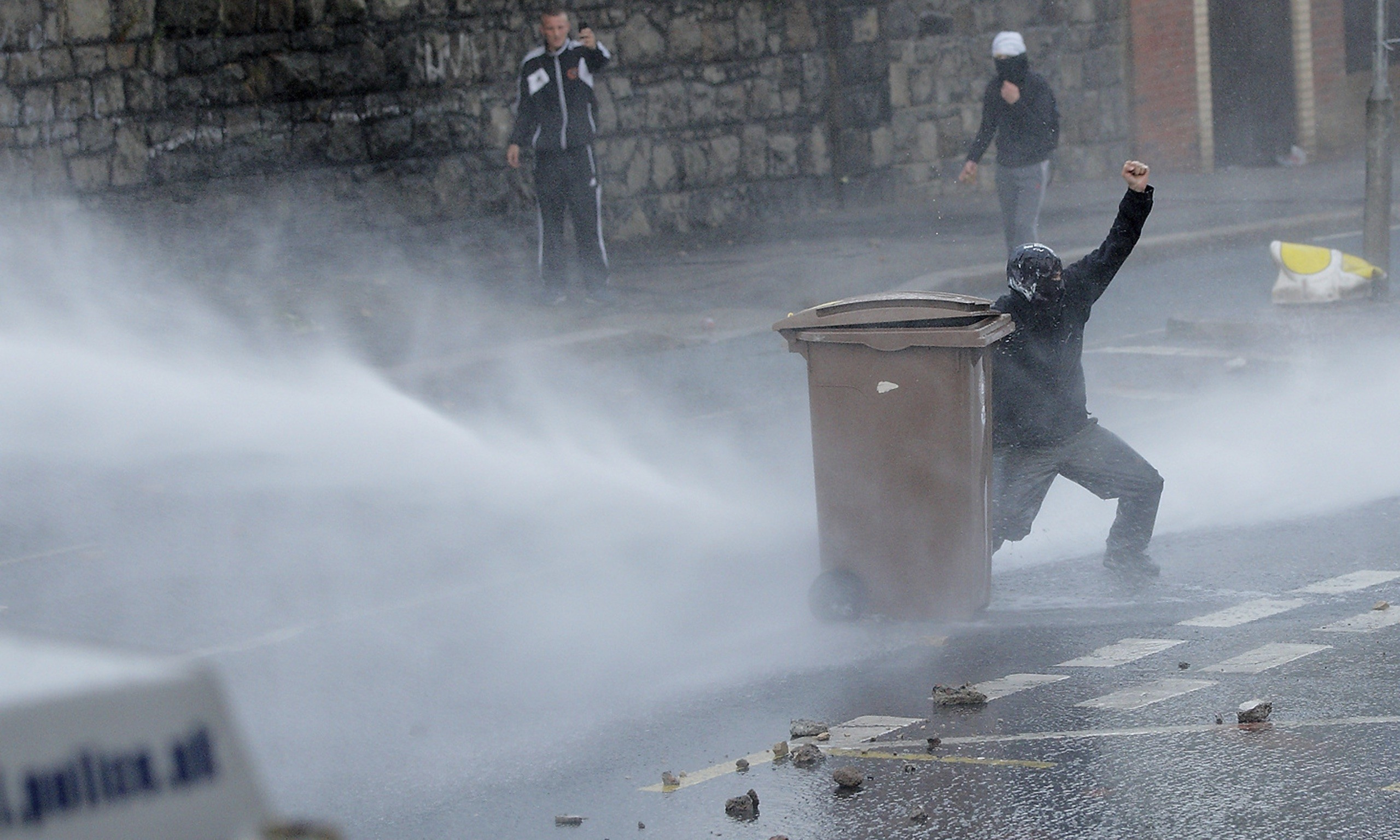 Police To Ask Home Secretary To Approve Use Of Water