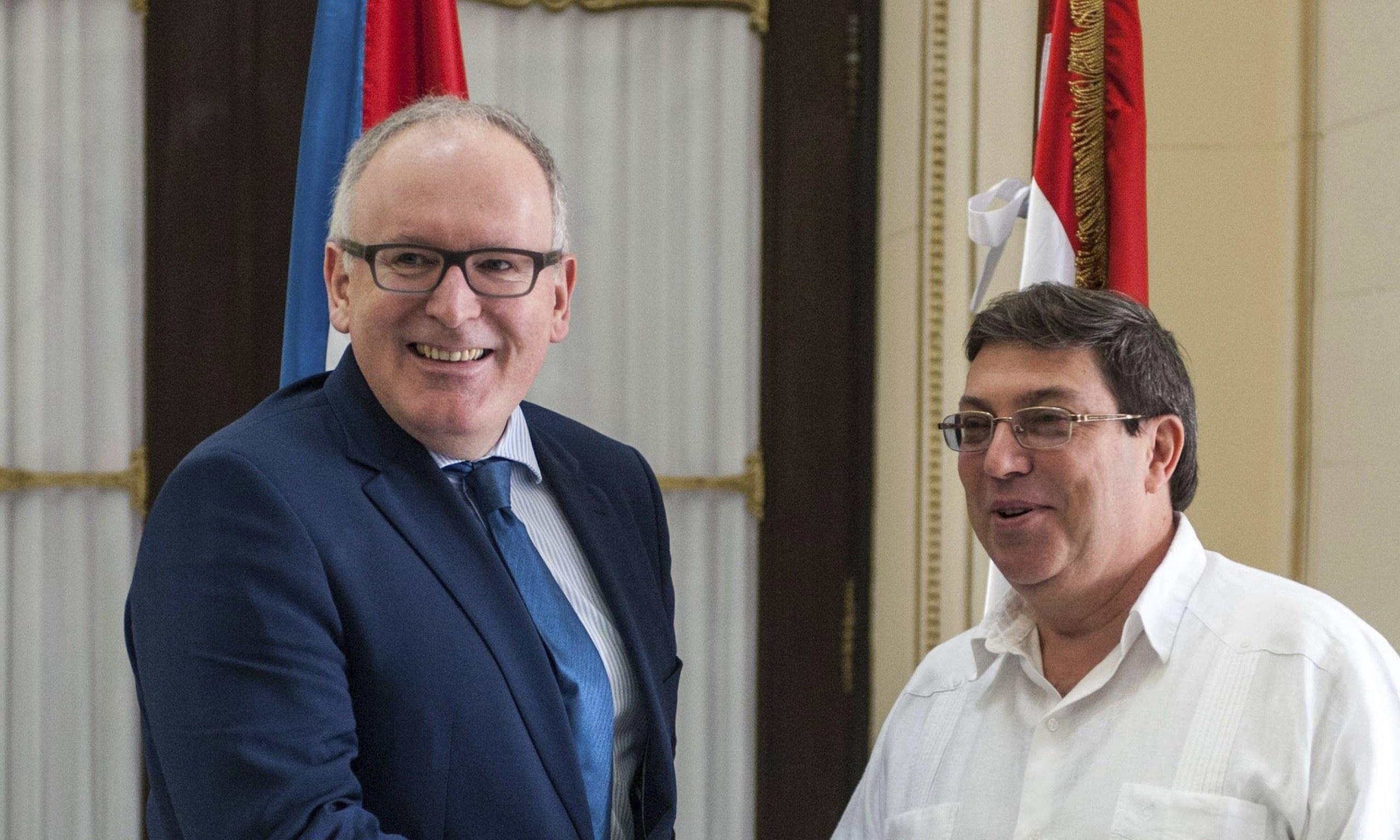 Holanda rompe com posição da UE e abre diálogo político com Cuba