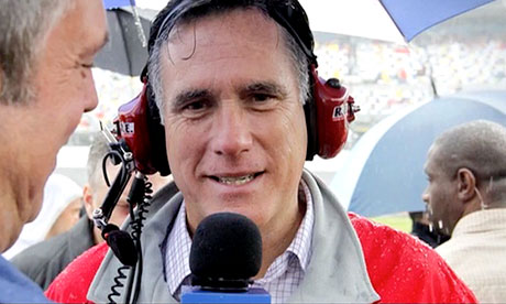 When challenged about an untruthful statement, Romney's tactic is to deny he said it – lie trumping lie, writes Michael Cohen. Photograph: YouTube/BarackObamadotcom