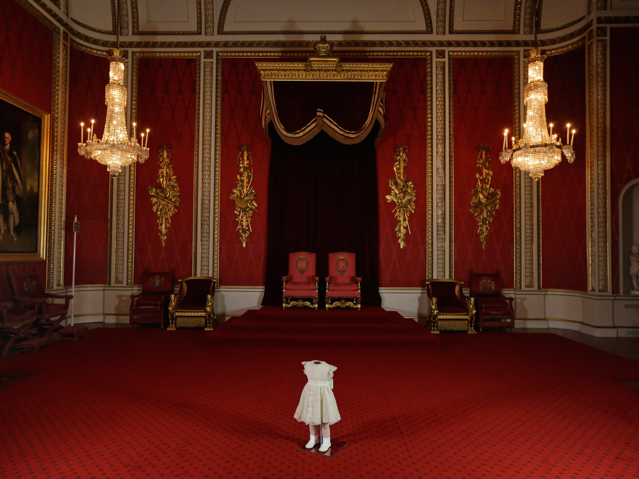 Throne Room Buckingham Palace Picture Of The Day Art