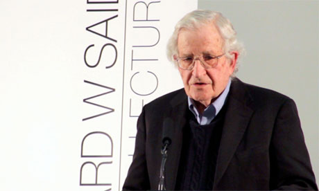 How Noam Chomsky is discussed