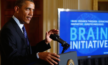 Obama unveils $100m plan to map human brain and help fight disease
