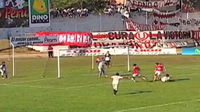 Peruvian footballer Renzo Reaos scores embarrassing own goal - video