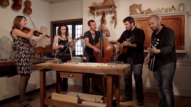 playing bluegrass on a stradivarius video music the guardian. Black Bedroom Furniture Sets. Home Design Ideas