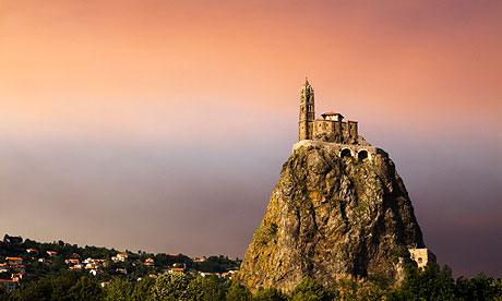 Регионы Франции: Овернь - достопримечательности, города, путеводители, описания, карты, маршруты