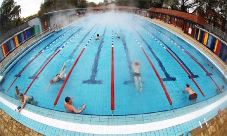 Where else can i go hackney society the guardian for Heated garden swimming pools