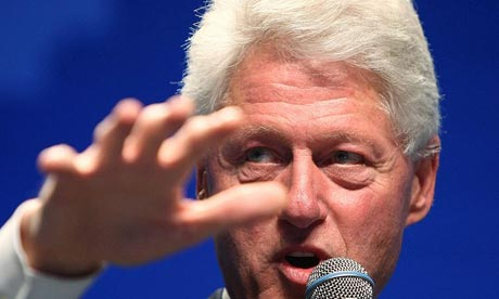 Bill Clinton is being talked about as the next president of the World Bank. Photograph: Ethan Miller/Getty