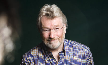 Photograph of Scottish author, Iain Banks