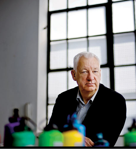 Artist Michael Craig Martin Reveals The System Behind His