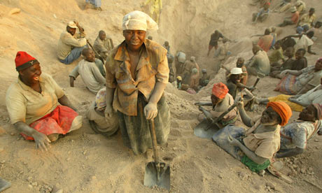 Zimbabwe diamond mine