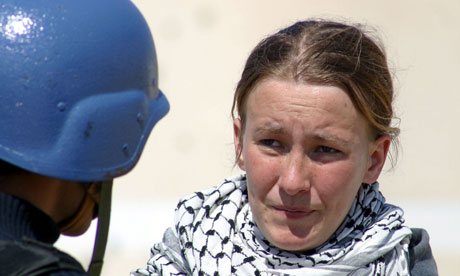 American peace activist Rachel Corrie: 'Anyone following Israel's path over the last decade could hardly be surprised when the court literally blamed the victim for her own death.' Photograph: Getty Images
