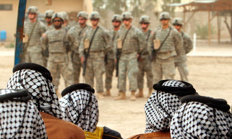 Barack Obama has announced that US troops will be withdrawn from Iraq by the end of this year.  Photograph: Khalid Mohammed/AP