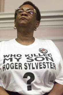 Sheila Sylvester, whose son Roger died in custody. Photograph: Graham Turner for the Guardian