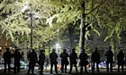 Thumbnail for Portland police arrest more than 50 protesters as Occupy camps cleared