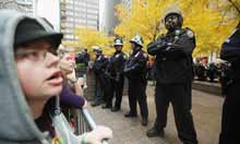 Thumbnail for NYPD defy supreme court over clearance of Occupy Wall Street