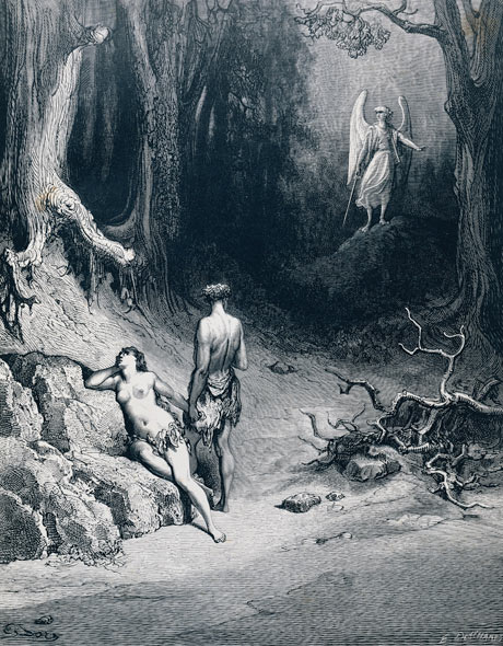 paradise lost and adams response to Miltonic marriage and the challenge to history in paradise lost  a response to historical circumstances, so that the union of adam and eve in paradise lost .