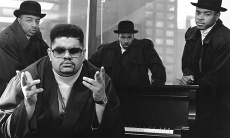 Heavy D, front, and the Boyz had many chart-topping singles. Photograph: Al Pereira/ Michael Ochs Archives